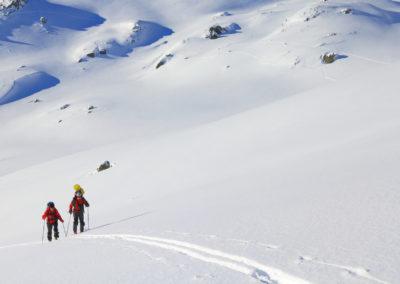 Ski de randonnée la Rosière