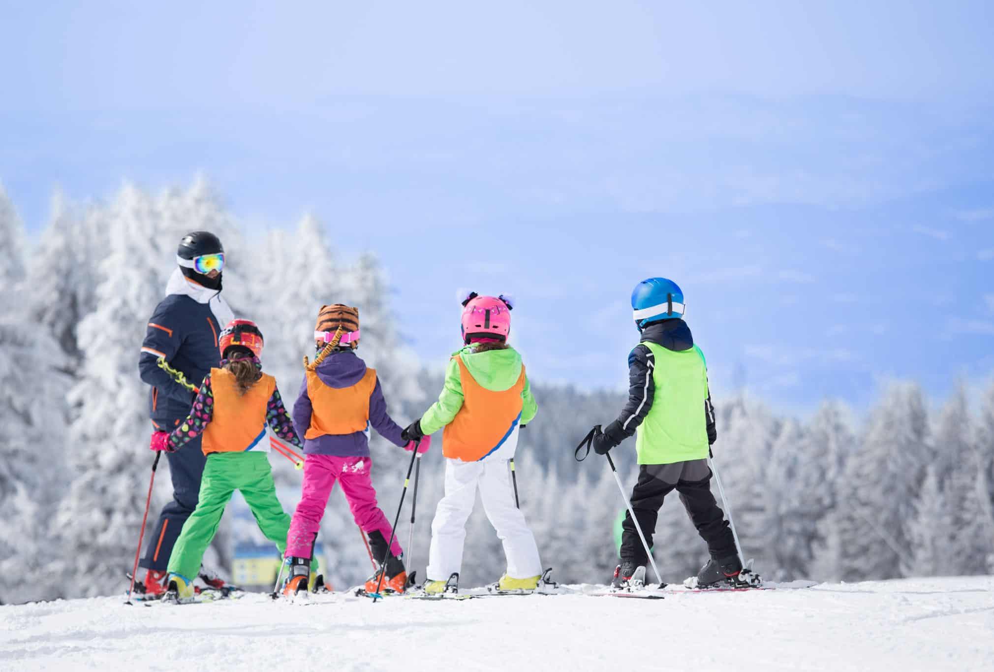 location de ski famille