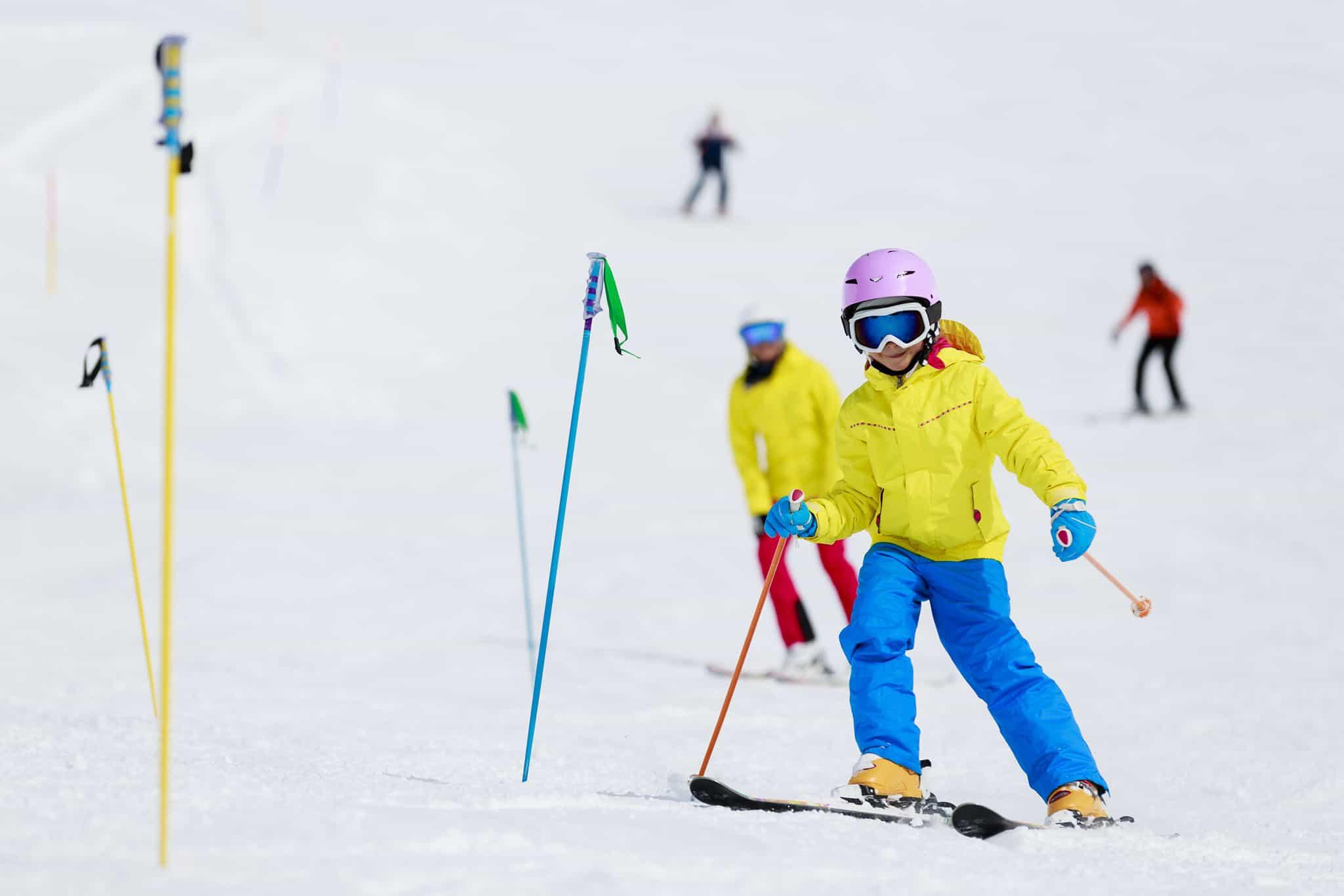 Ski famille pied des pistes