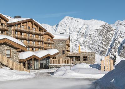 Hôtel Alparena vue Exterieur