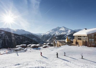Hôtel Alparena vue Exterieur ski