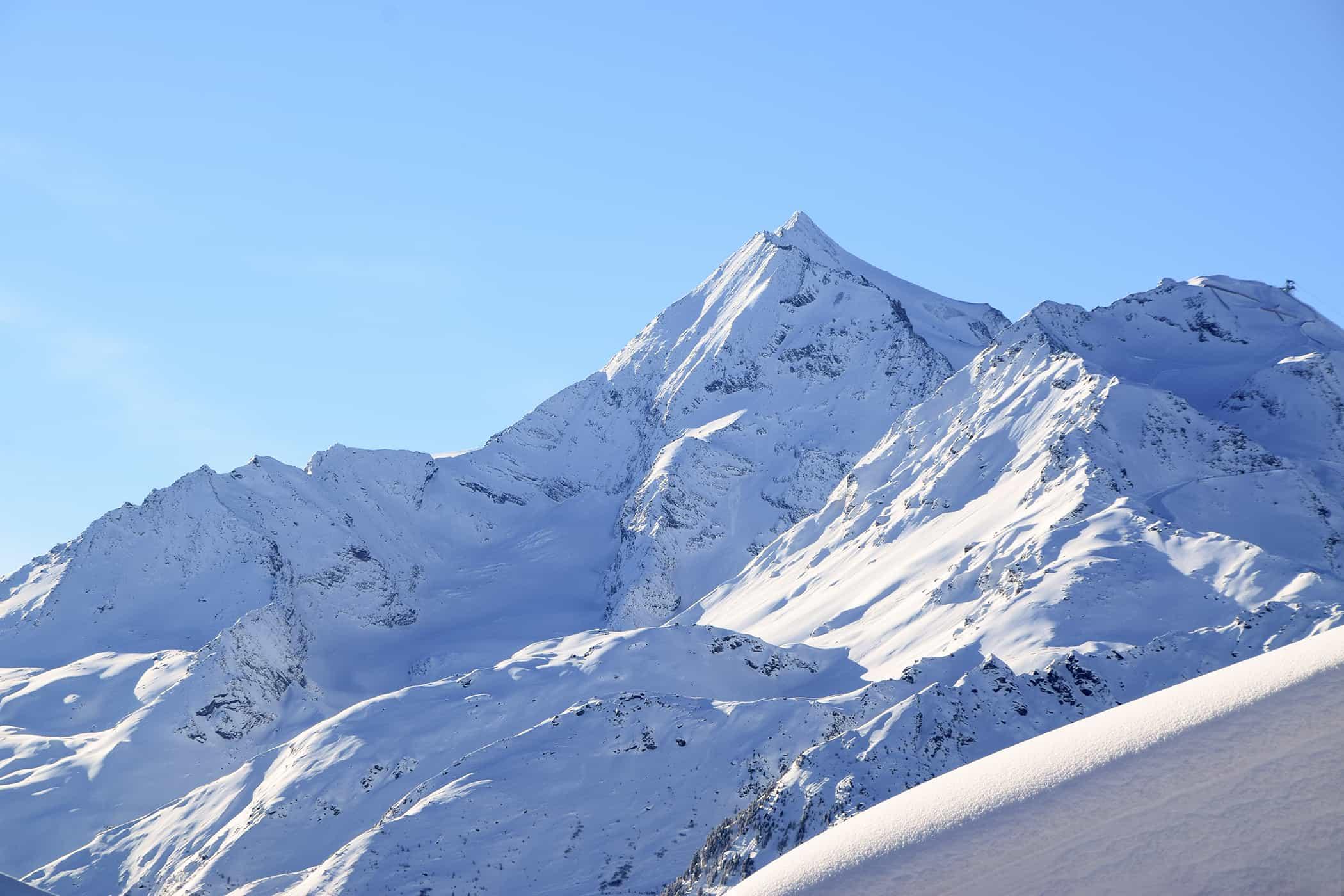 La Rosière mont pourri neige