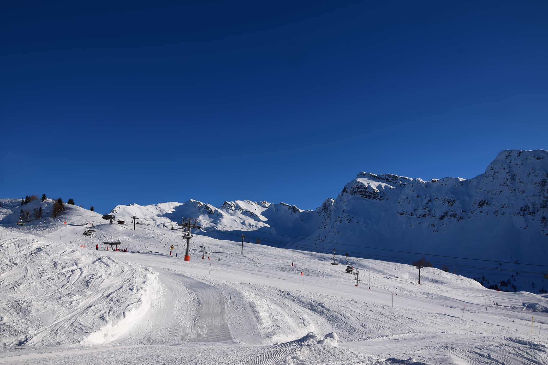 la rosière pistes de ski